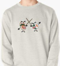 angry dueling zombie sushi Pullover