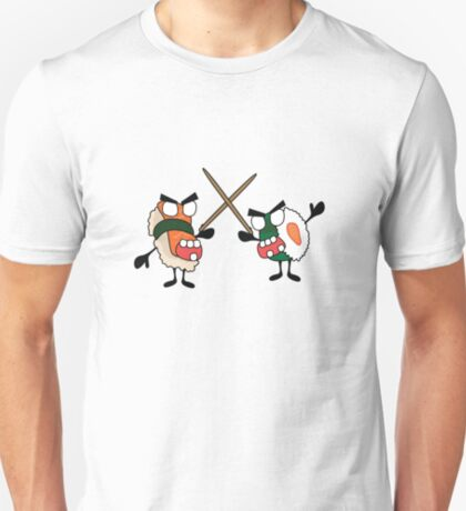 angry dueling zombie sushi T-Shirt