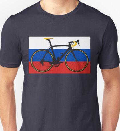 Bike Flag Russia (Big - Highlight) T-Shirt