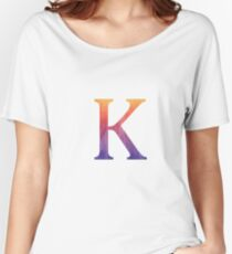 K Women's Relaxed Fit T-Shirt