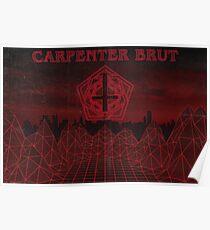 Carpenter Brut poster Poster