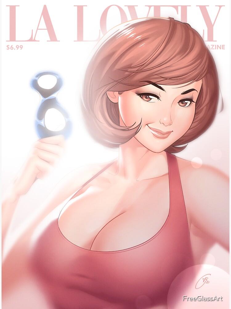 La Lovely - Helen Cover Deluxe by FreeGlassArt