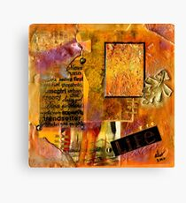 A Woman's LIFE Canvas Print