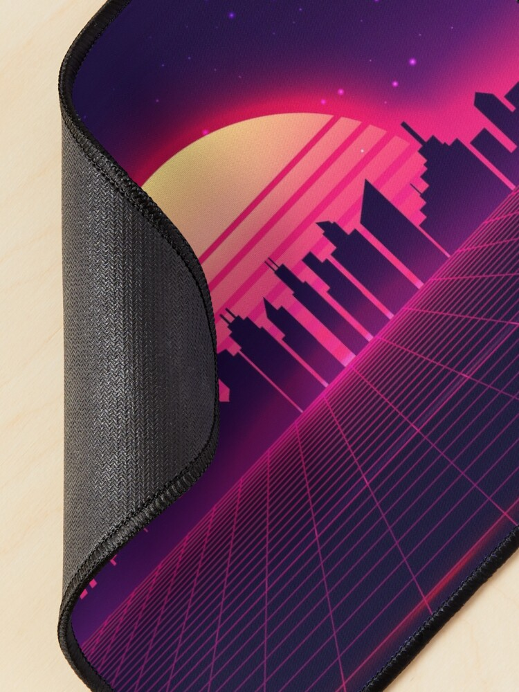 Alternate view of Retrowave Mouse Pad