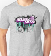 Static Drop 3D (3) Unisex T-Shirt