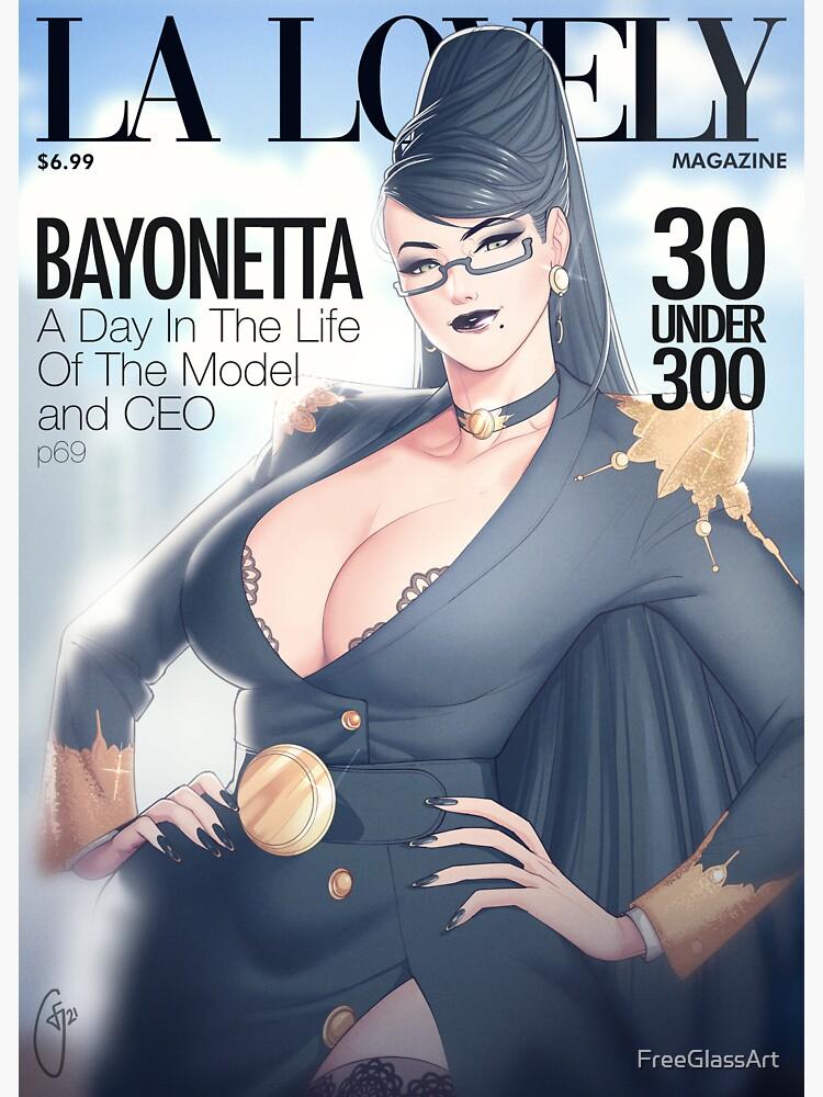 La Lovely - Bayonetta Cover by FreeGlassArt