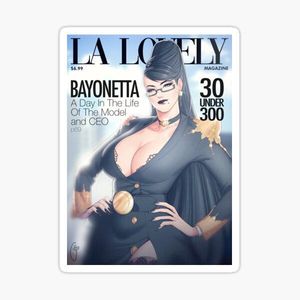 La Lovely - Bayonetta Cover Sticker