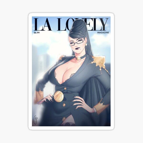 La Lovely - Bayonetta Cover Deluxe Sticker