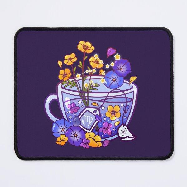 Virgo Zodiac Teacup Mouse Pad