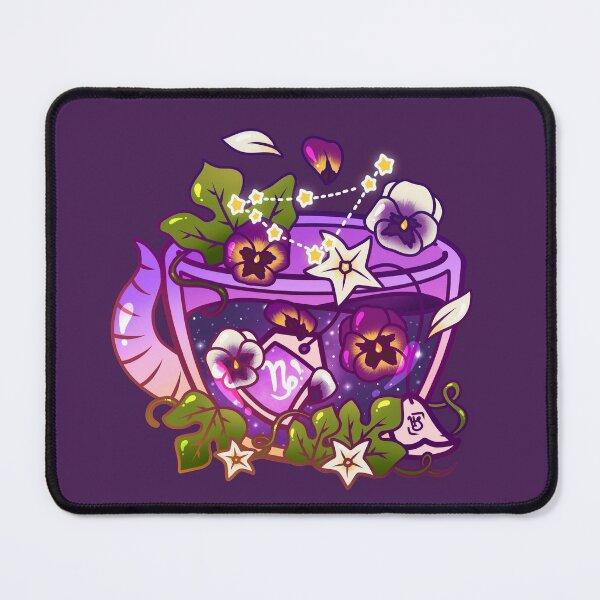Capricorn Zodiac Teacup Mouse Pad