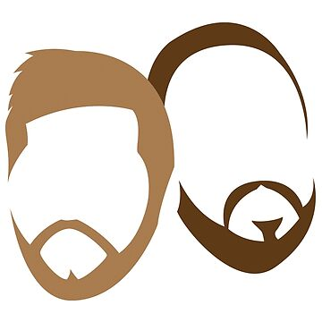Adam and Bruce's Beards by aljoschakersna