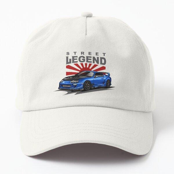 The Supra A80 (Ocean Blue) Dad Hat