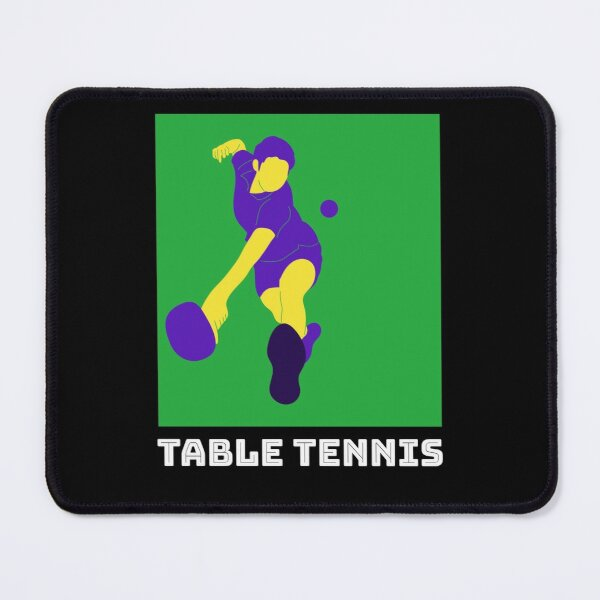 I'm A Table Tennis Player Mouse Pad