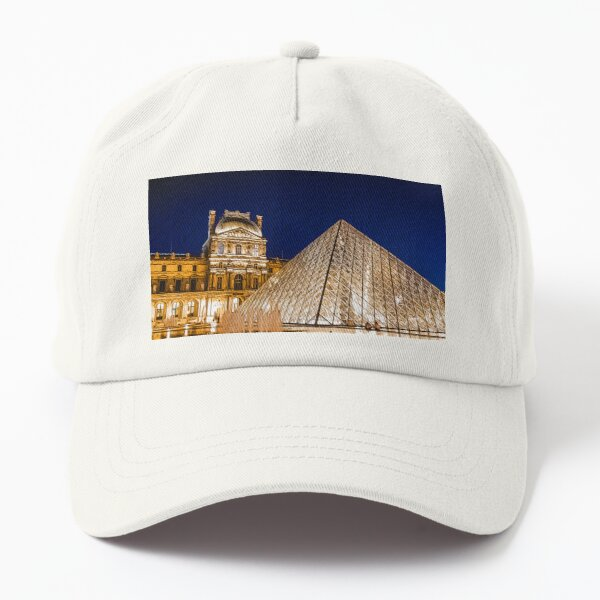 Louvre at Night Dad Hat