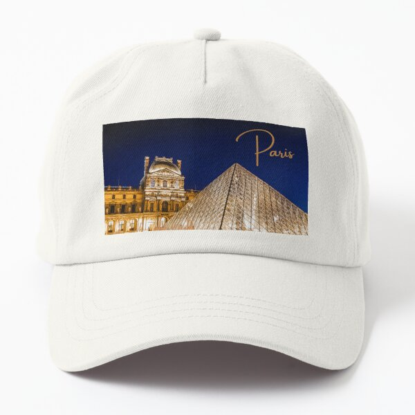 Paris at Night Dad Hat