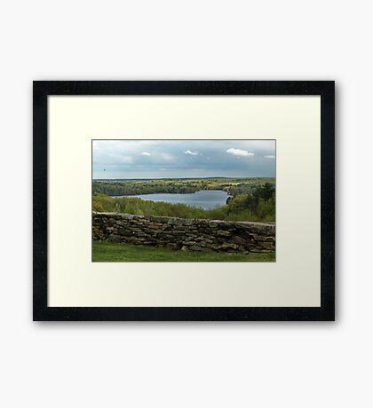 Waters Farm Framed Print