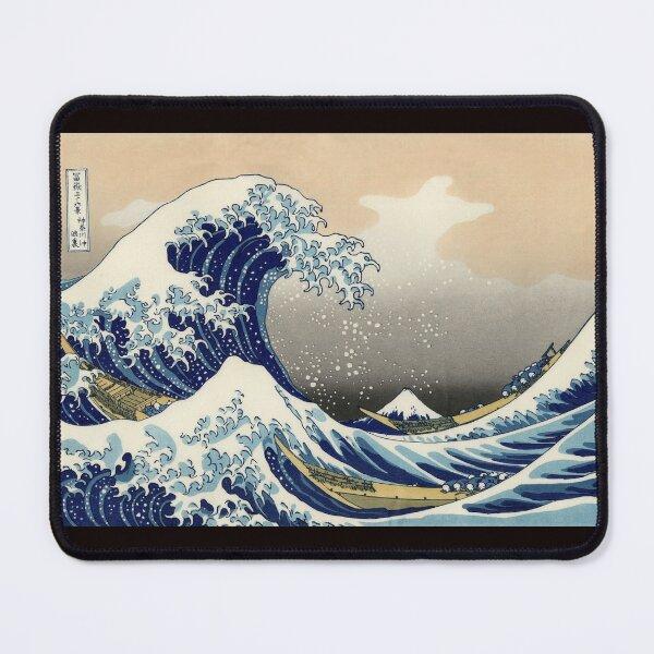 'The Great Wave Off Kanagawa' by Katsushika Hokusai (Reproduction) Mouse Pad
