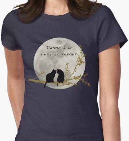T'aime à la lune et retour T-Shirt