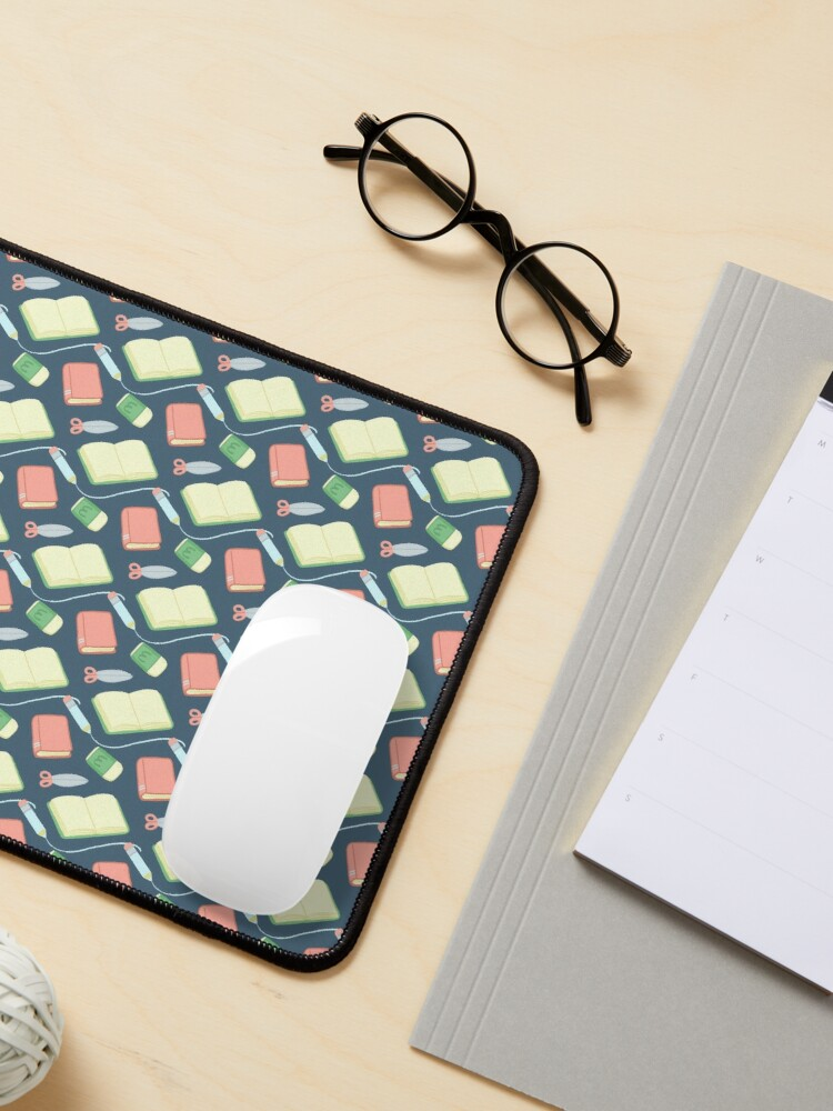 Alternate view of School Time Pattern Mouse Pad