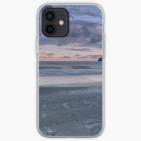 The Pastels of Vik Beach iPhone Soft Case