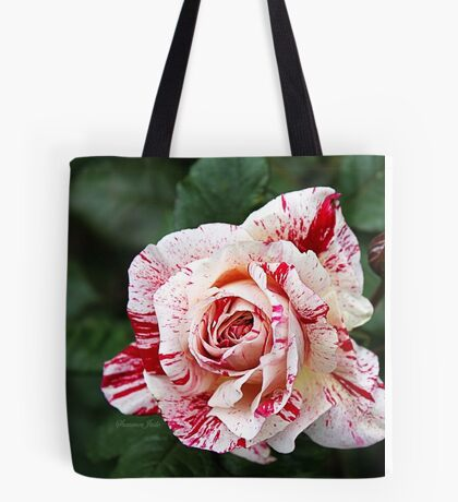 Peppermint Rose ~ Sweet and Spicy  Tote Bag