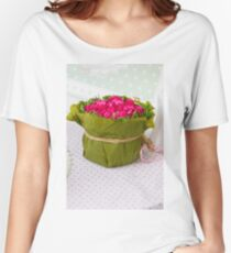 decoration with flowers Women's Relaxed Fit T-Shirt