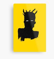 "Basquiat ""Self Portrait"" Metal Print"