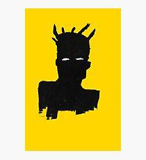 "Basquiat ""Self Portrait"" Photographic Print"
