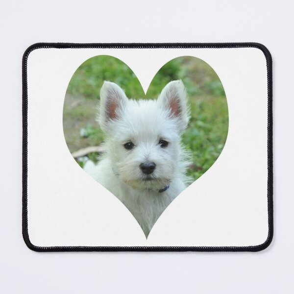 West Highland White Terrier Puppy portrait 2 Mouse Pad