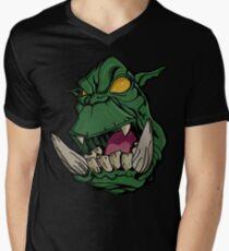 ogro Mens V-Neck T-Shirt