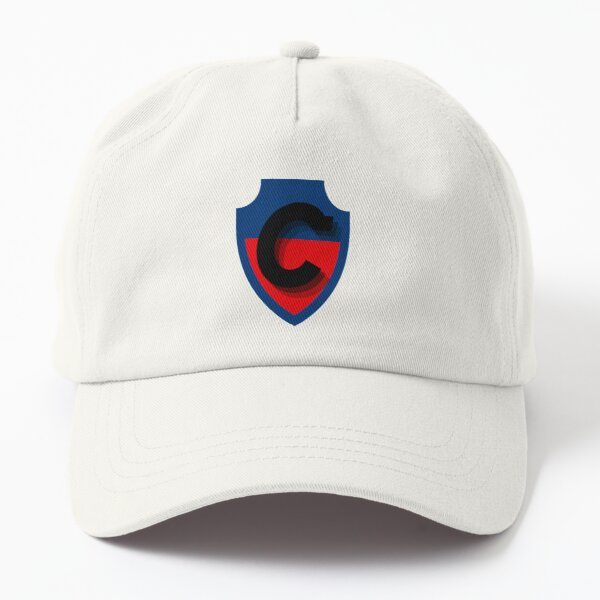 Blue and Red Football Dad Hat