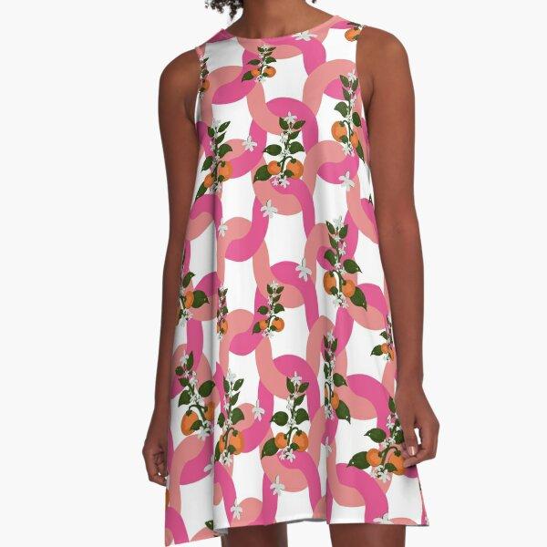 Pink Dreams A-Line Dress