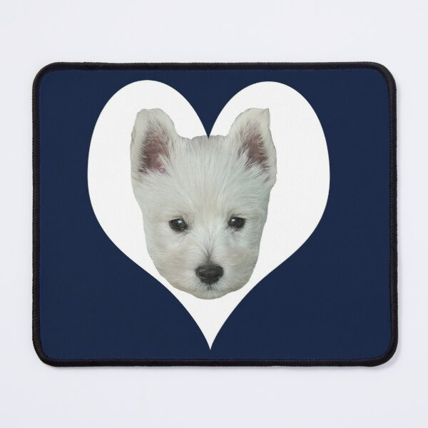 West Highland White Terrier Puppy Portrait 4 Mouse Pad