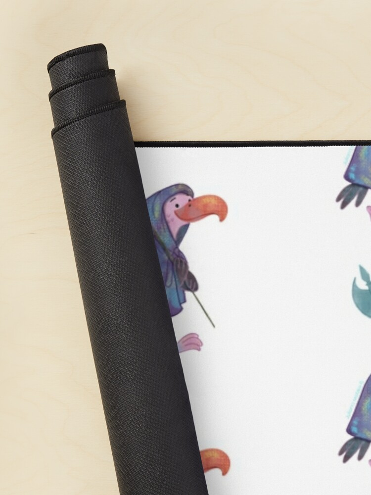 Alternate view of Cute Guardian Vulture Mouse Pad