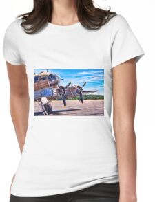 Flying History Womens Fitted T-Shirt