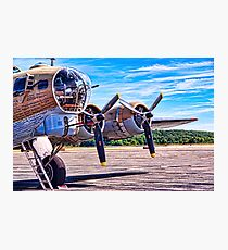 Flying History Photographic Print