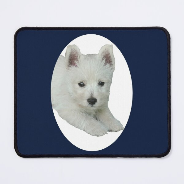 West Highland White Terrier Puppy Portrait 5 Mouse Pad