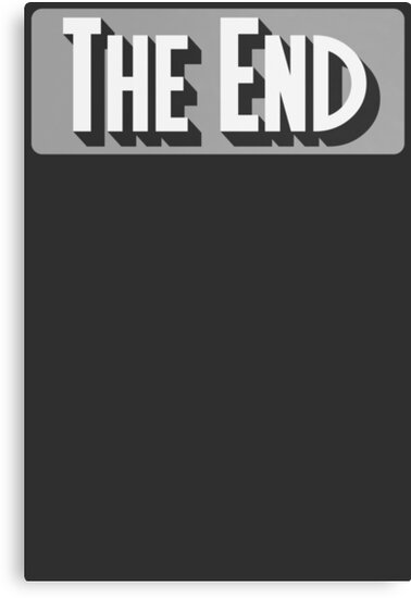 The End Classic Movie T Shirt by bitsnbobs