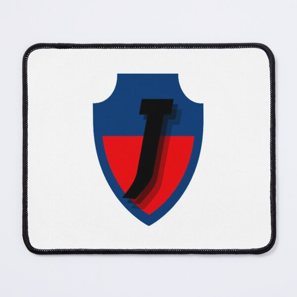 Blue and Red Football Mouse Pad