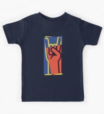 Metal Hand Horns Pop Art Kids Clothes