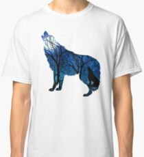 Howling Wild Wolf Classic T-Shirt