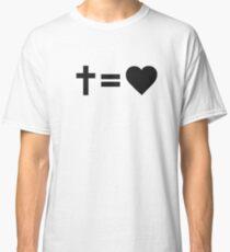Camiseta clásica Símbolo cristiano