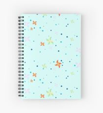 Flower-Windmills Spiral Notebook