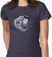 Time Flight Women's Fitted T-Shirt