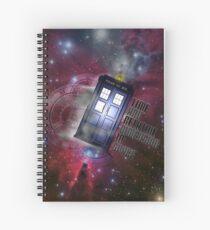 Time Flight Spiral Notebook