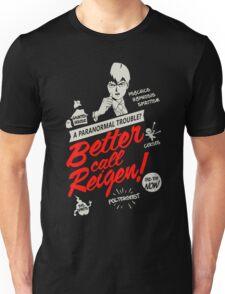 Better Call Reigen Black Back Unisex T-Shirt