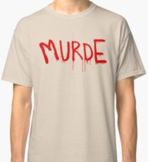 American Horror Story Season 6 My Roanoke Nightmare Murde Graffiti Classic T-Shirt
