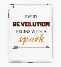 The Hunger Games - Spark  iPad Case/Skin