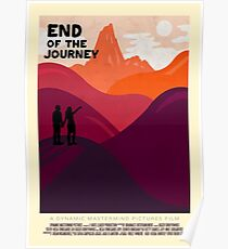 End Of The Journey Poster