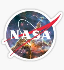 NASA Logo - Hubble, Mystic Mountain Sticker